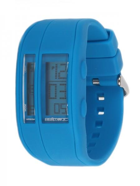 Pollmann Sportwatch Chrono Blau Armbanduhr