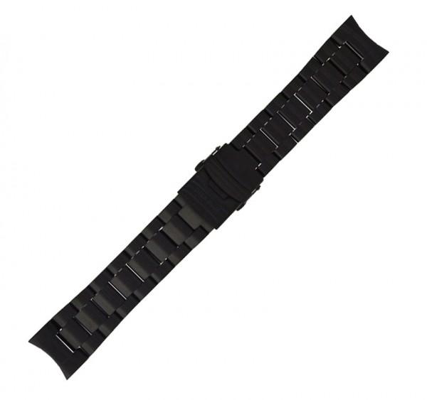 Deep Blue Nato Diver Edelstahl-Armband 22mm PVD