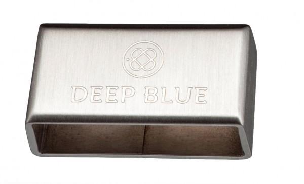 Deep Blue Armband Keeper Steel / PVD