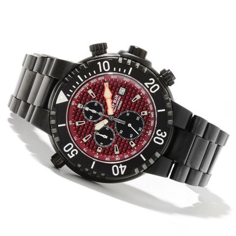 Deep Blue Sea Chrono 1000m Red PVD