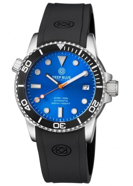 Deep Blue Diver 1000 Black-Blue