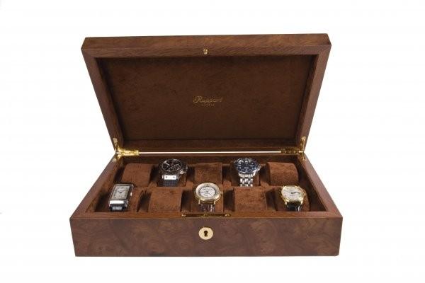 Rapport Wurzelnuss Uhrensammlerbox 10