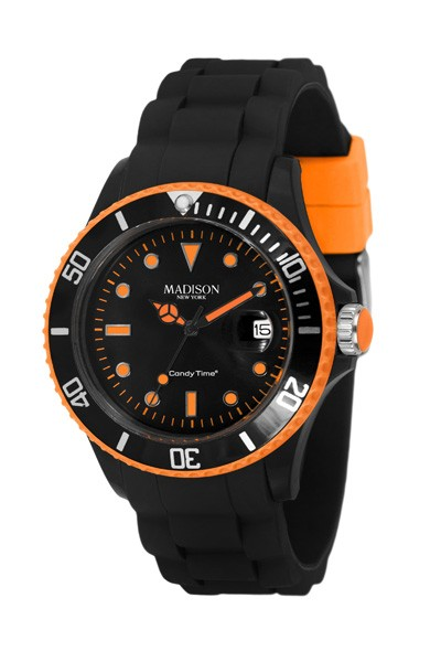 Madison New York U4485-42 Schwarz/Orange