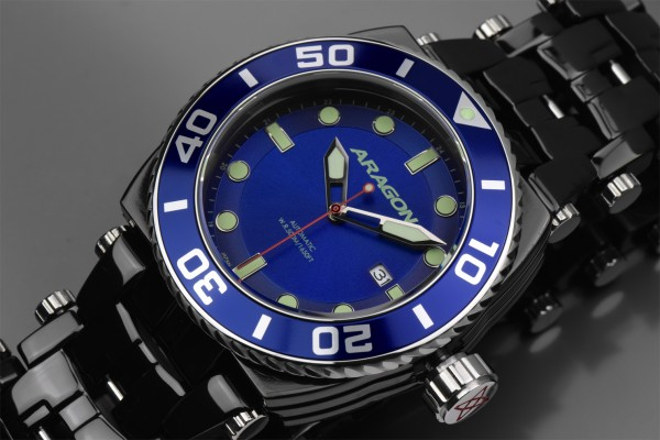 ARAGON Milipede Automatic Blue Black IP