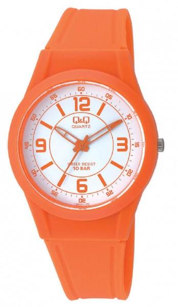 Q&Q Analog VQ50J018Y Unisex Orange Armbanduhr