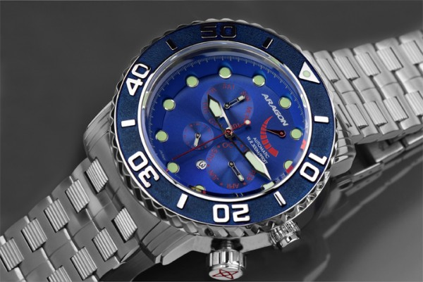 ARAGON Gauge 9100 Automatic Blue