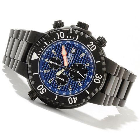 Deep Blue Sea Chrono 1000m Blue PVD
